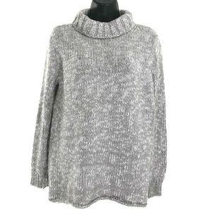 Eileen Fisher Sweater Turtleneck Organic Cotton
